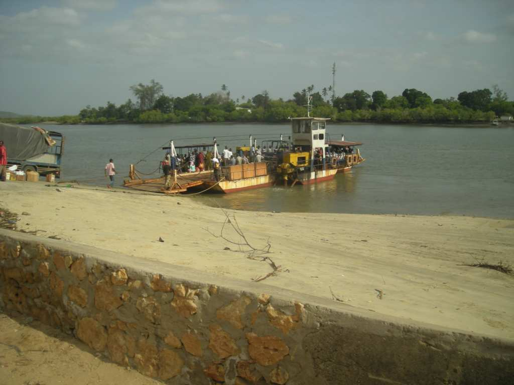 ferry in Pangani