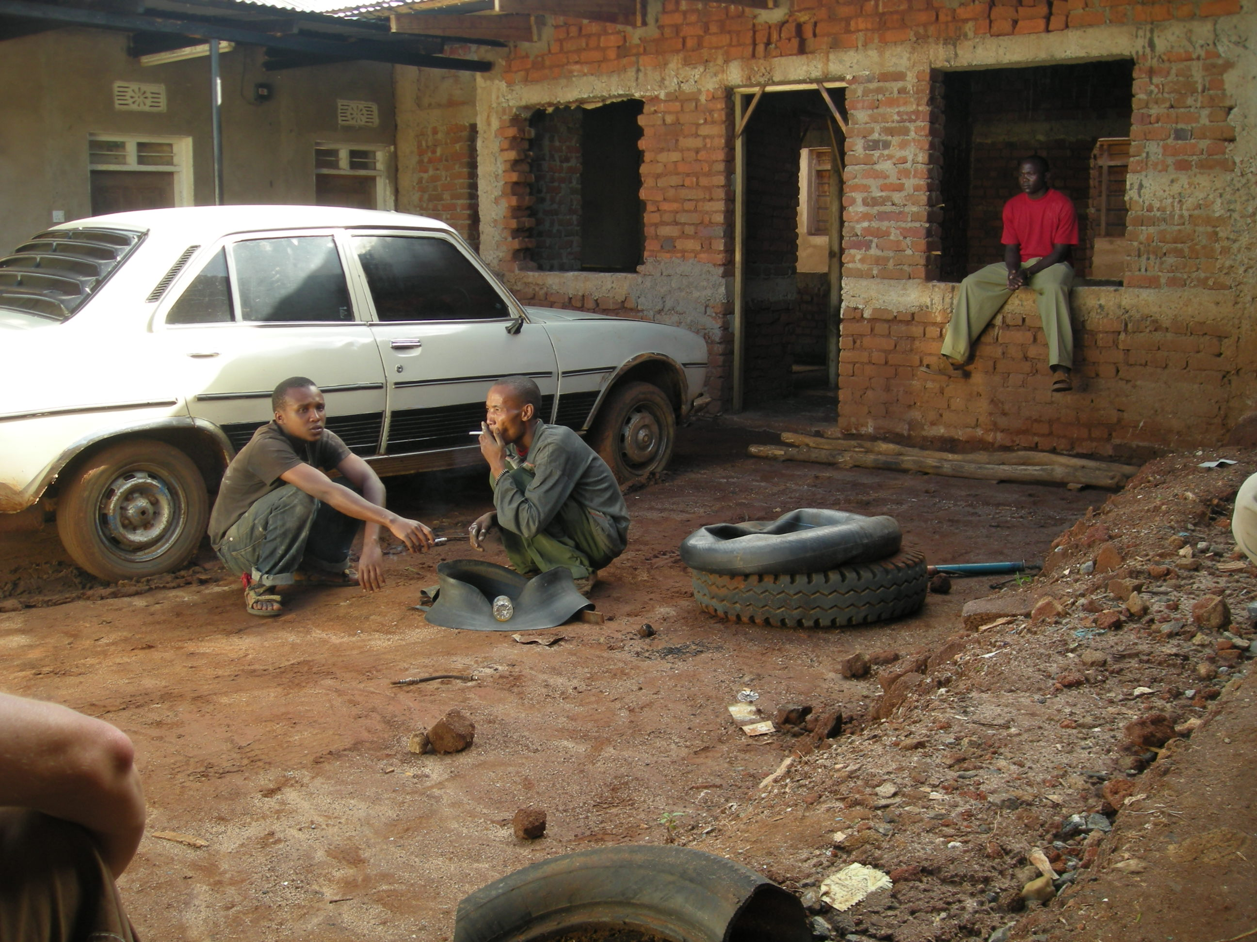 Tire shop in Mbulu