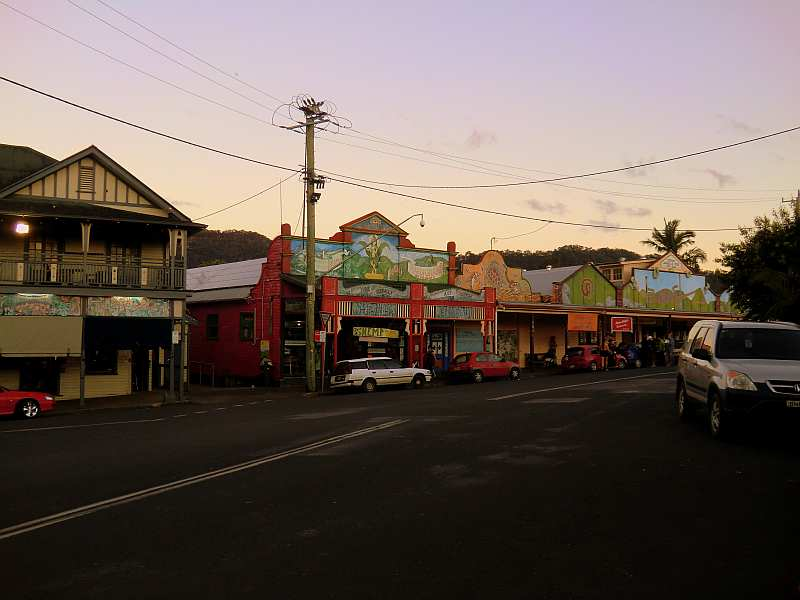 Nimbin Main Street (and Hemp shop)
