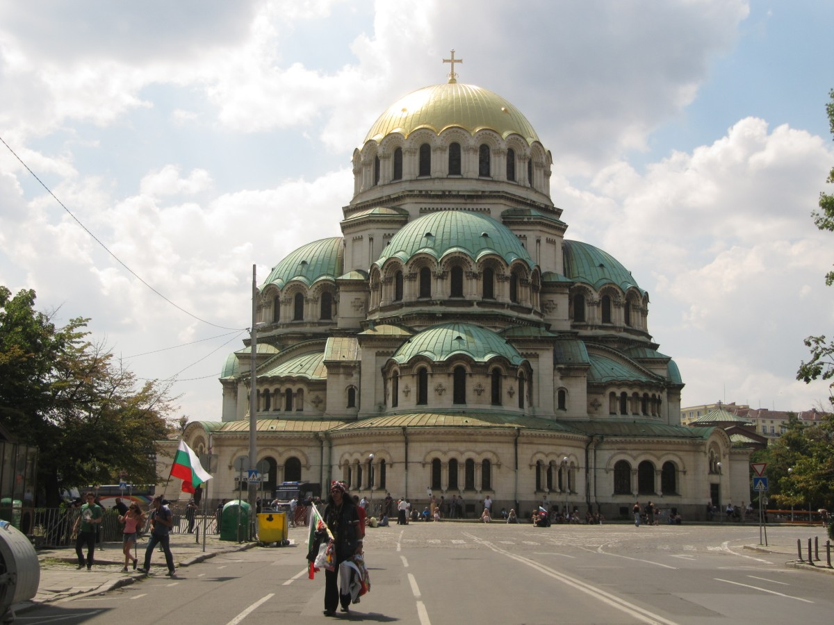 Nevsky Cathedral in Sofia