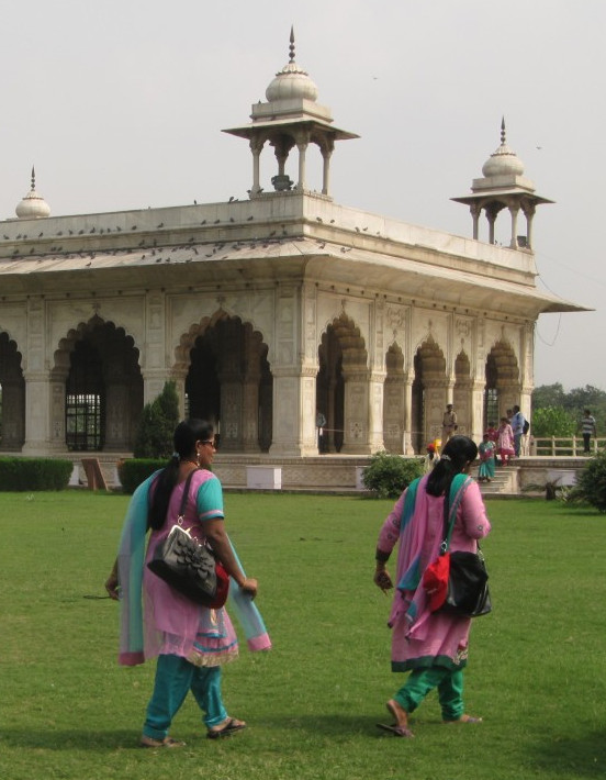 Palace in Red Fort, Delhi