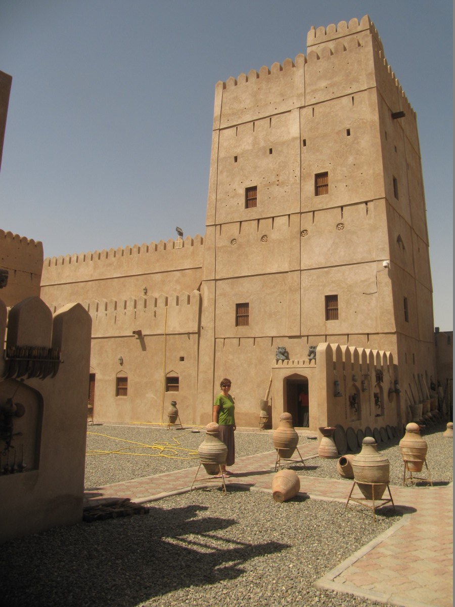 Khalfans Castle in Al Kamil
