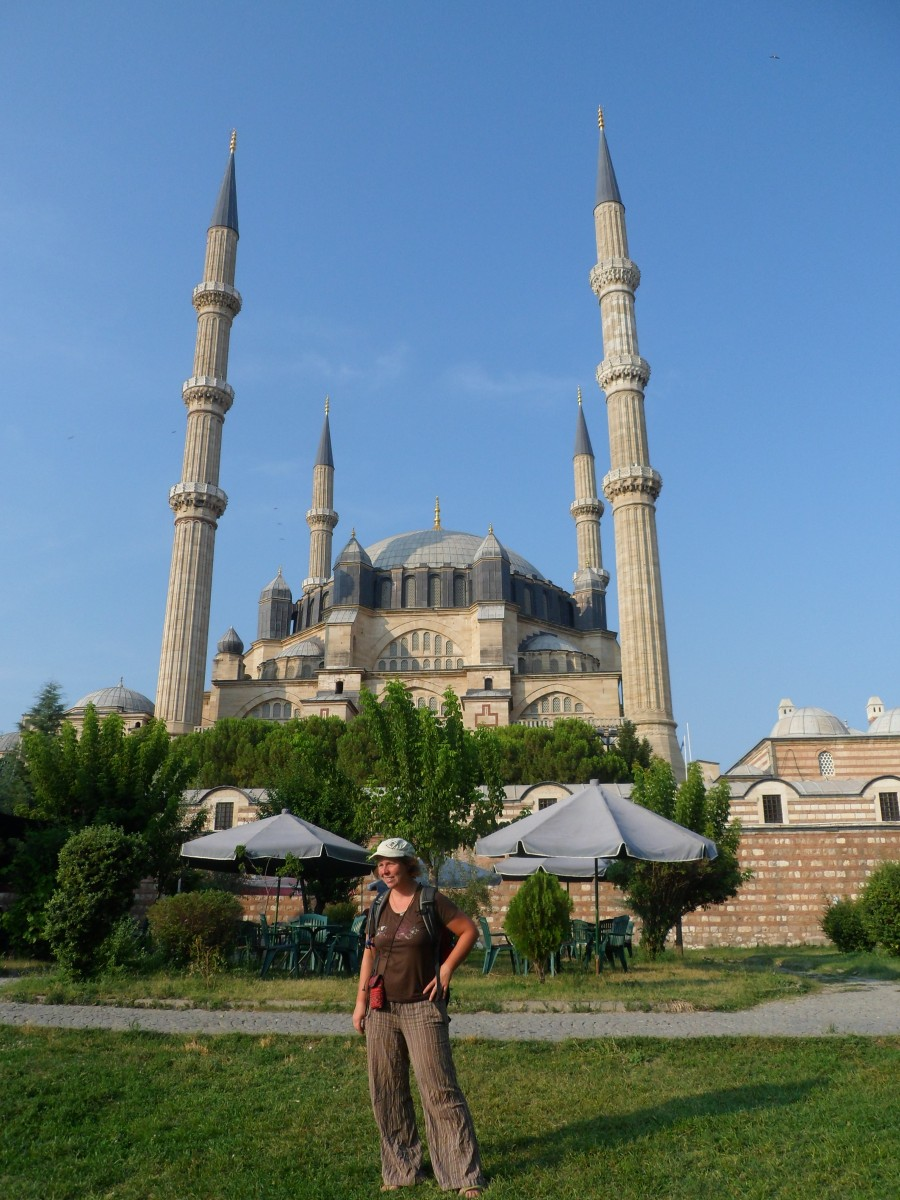 Kathrin and the Selimiye Mosque