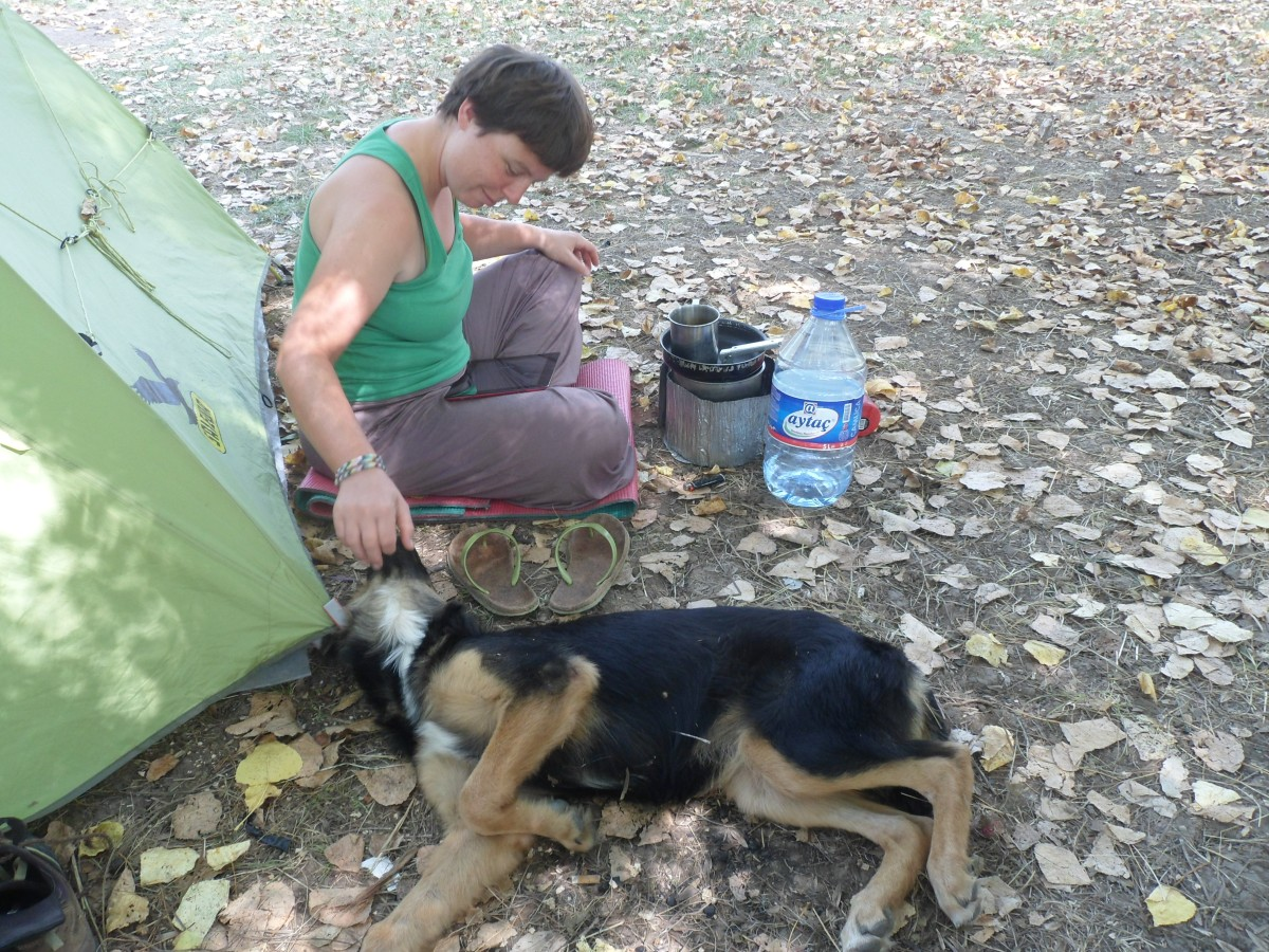 Camping in Sile