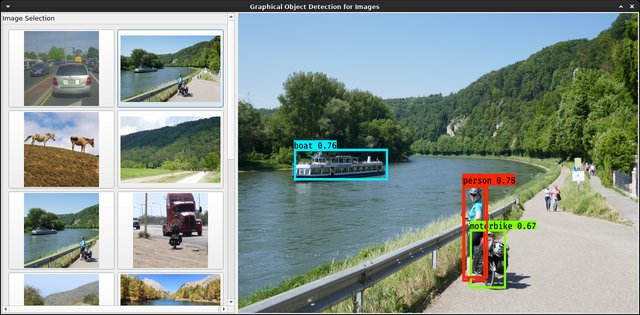 example object detection app